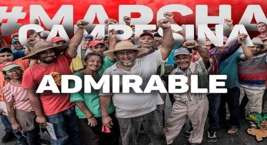 Marcha Campesina Admirable